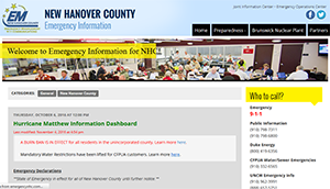 NHC Emergency Information Site