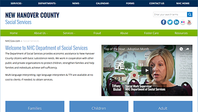 New Hanover County Social Services