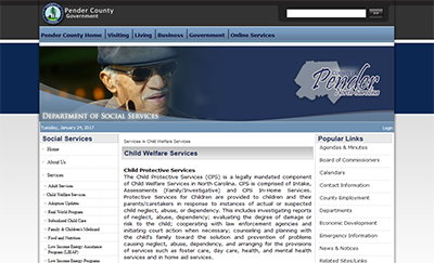 Pender County Social Services