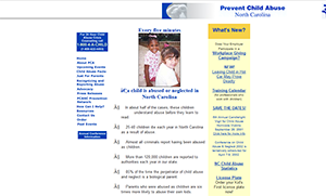 Prevent Child Abuse North Carolina