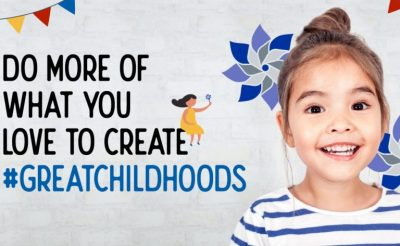 Create Great Childhoods; restore hope