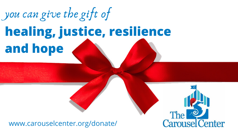 You give the gift of healing, justice, resilience and hope