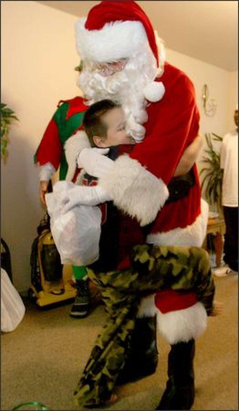 Santa Hugs