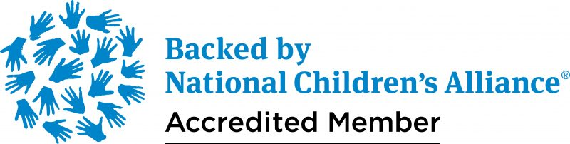 The Carousel Center is an Accredited Member of the National Children's Alliance