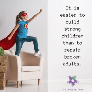 It is easier to build strong children than to repair broken adults. Fredrick Douglass