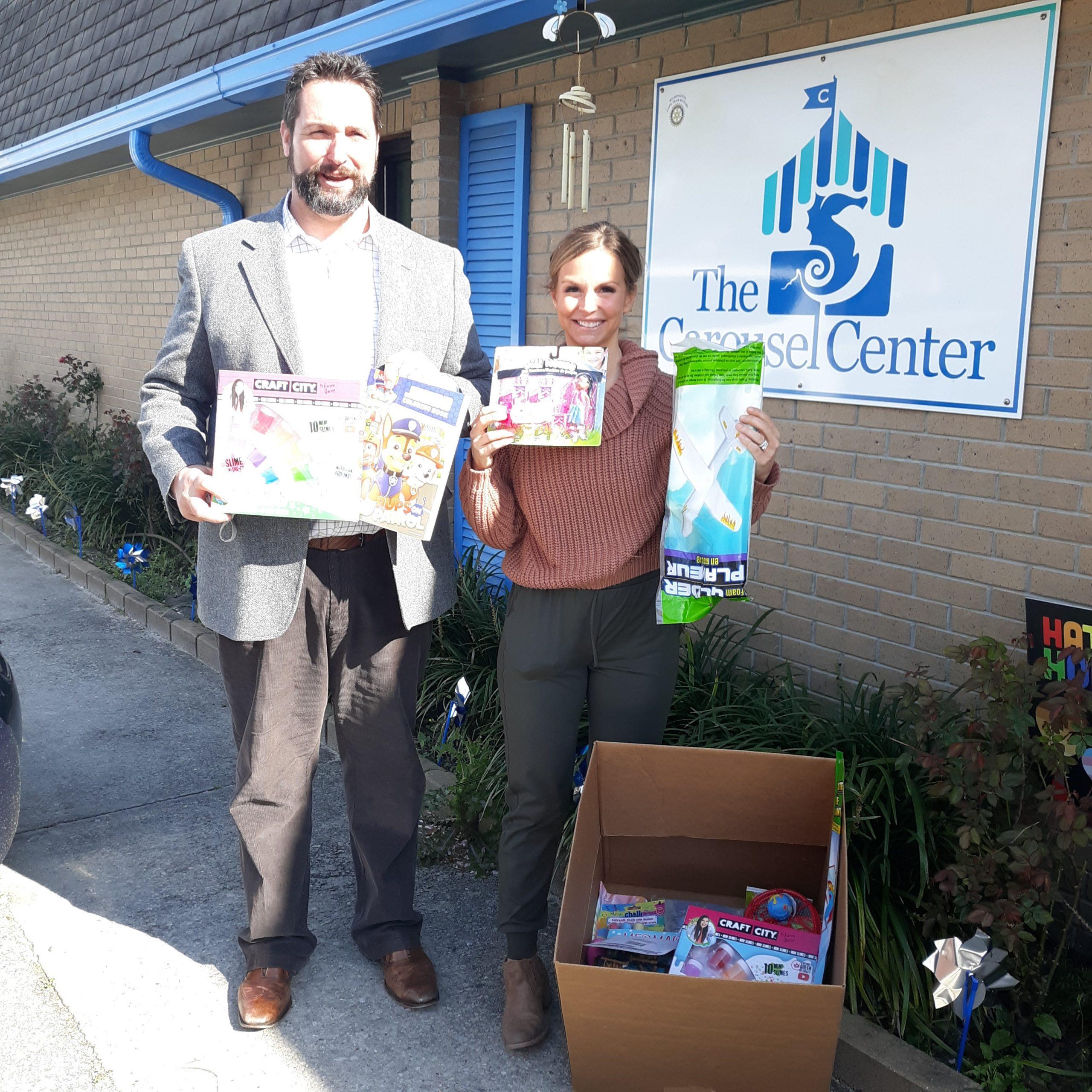 MC Mortgage donates items for treasure box