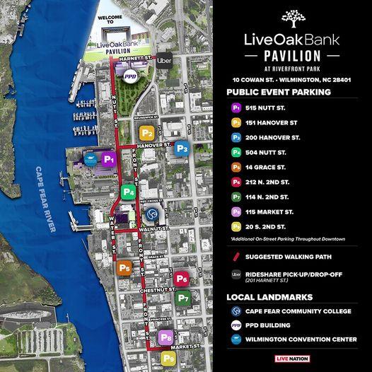 Parking for River Front Park